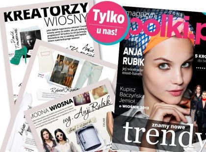 Gwiazdy świata mody radzą jak być stylową wiosną 2013