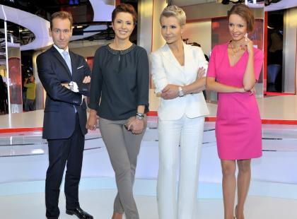 Gwiazdy TVP Info na spotkaniu promocyjnym