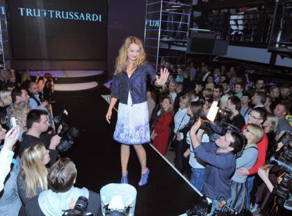 Gwiazdy w roli modelek Trussardi