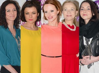 Gwiazdy w wiosennych stylizacjach na premierze teledysku Lidii Kopanii