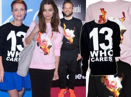 Gwiazdy wciąż noszą bluzy polskiego duetu projektanckiego