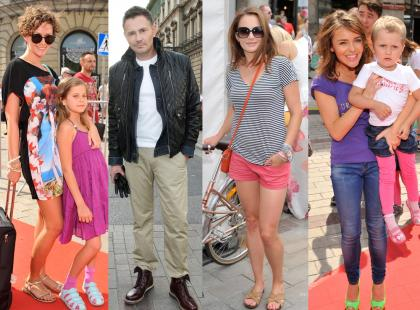 Gwiazdy za kulisami Warsaw Fashion Street 2012