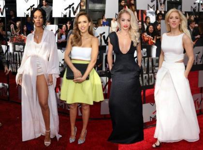 Gwiazdy zachwyciły kreacjami na MTV Movie Awards 2014