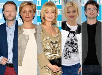 Gwiazy seriali TVP na konferencji prasowej