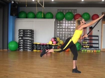 Gymstickowy trening na triceps