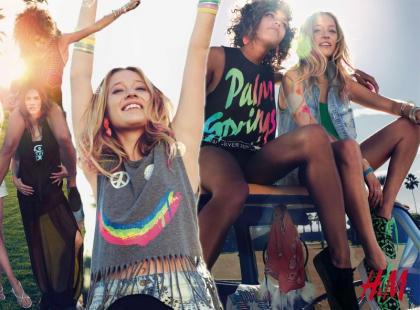 H&M i moda festiwalowa na lato 2013