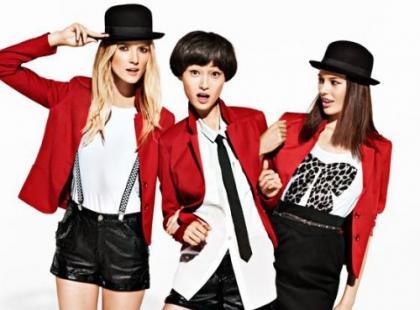 H&M - pre-fall 2012 w stylu punk
