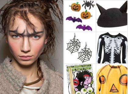 Halloween last minute - jak w prosty sposób się przebrać?