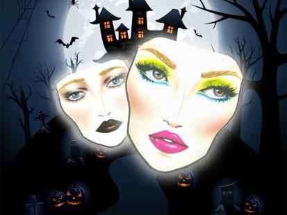 Halloweenowy makijaż od MAC