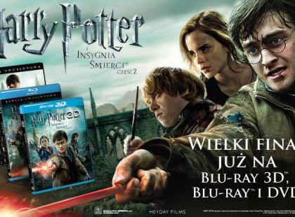 """""""Harry Potter i insygnia śmierci cz.2"""" na DVD"""