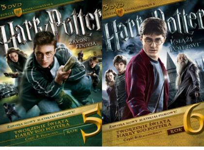 """""""Harry Potter. Lata 5-6"""" - nowe kolekcjonerskie wydania DVD!"""