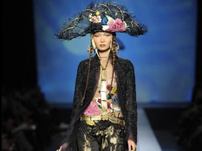 Haute couture: Jean Paul Gaultier  wiosna-lato 2010
