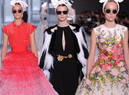Haute Couture w Paryżu: Giambattista Valli i jego retro