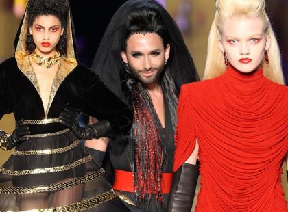 Haute Couture w Paryżu: Jean-Paul Gaultier