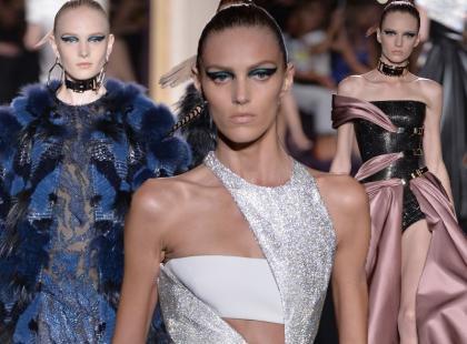 Haute Couture w Paryżu: Versace jesień 2014
