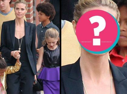 Heidi Klum bez makijażu!