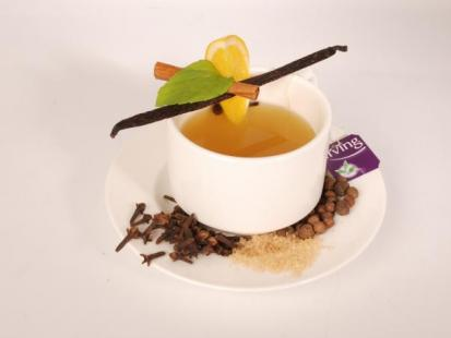 Herbata zimowa z przyprawami
