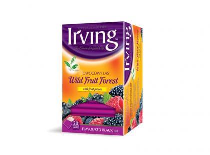Herbaty Irving z malinami, jeżynami i imbirem