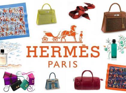 Hermes pachnie skórą i perfumami