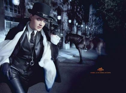 Hermes w mrocznych klimatach Sherlocka Holmesa - kolekcja na rok 2010/2011