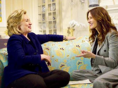 Hillary Clinton i Julia Roberts - Razem na ratunek światu