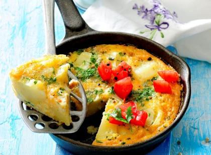 Hiszpański omlet z ziemniakami