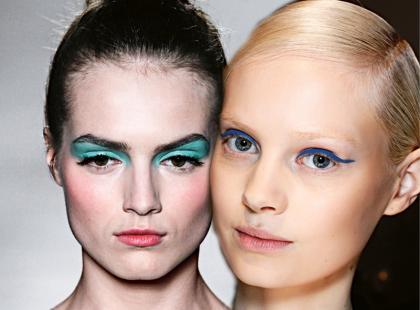 Hit! Błękitny makijaż oczu