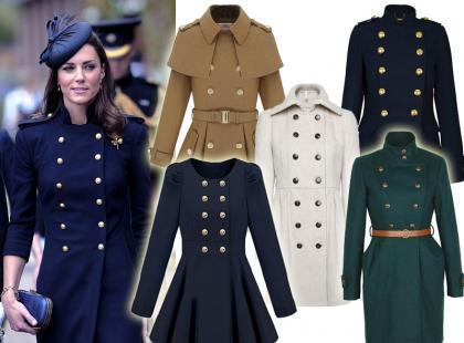 Hit jesieni: ciepłe płaszcze z żołnierskimim guzikami