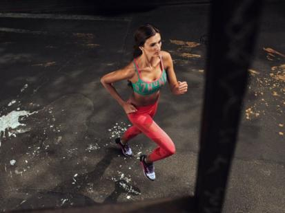 Hit! Kolorowe legginsy, podkreślające kobiece kształty