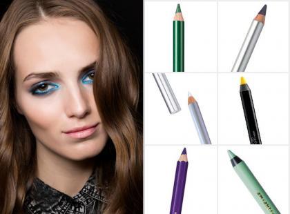 Hit lata 2015: kolorowe kreski na powiekach