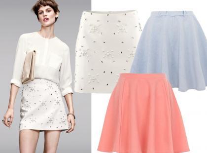 Hit lata: kolorowe spódnice mini