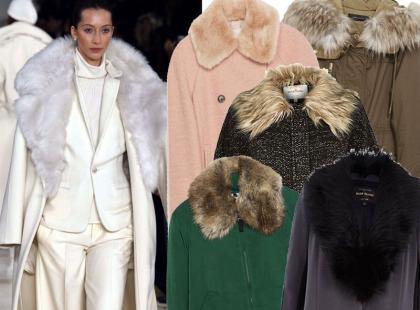 Hit sezonu: kurtki i płaszcze z futrzanym kołnierzem