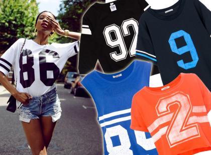Hit! Sportowe koszulki z numerami