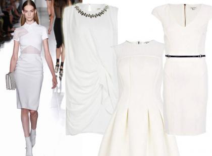 Hit wiosny: białe sukienki - propozycje od 89zł