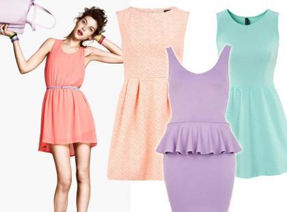 Hit wiosny: pastelowe sukienki. Propozycje już od 79zł