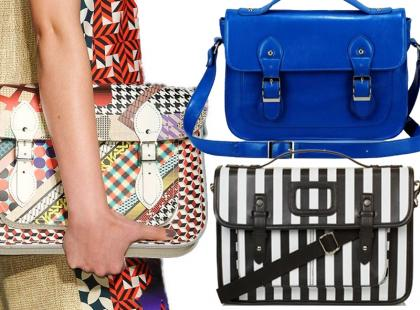 Hit wiosny: torebki-teczki