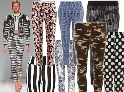 Hit wiosny: wzorzyste spodnie są obowiązkowe