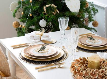 Hity z Instagrama: 10 pięknych aranżacji stołu na święta