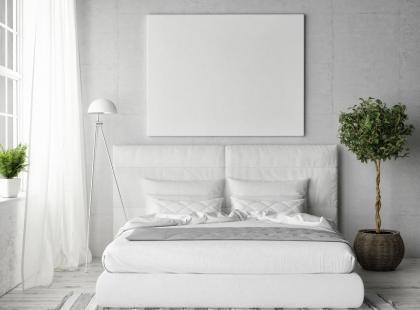 Hity z Instagrama: 7 pomysłów na białą sypialnię