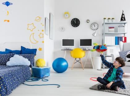 Hity z Instagrama: 7 pomysłów na pokój dla chłopca!