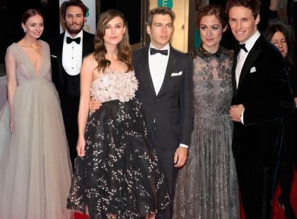 Hollywoodzkie pary na BAFTA Awards 2015