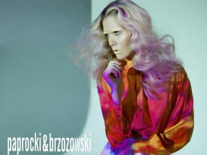Honorata z Top Model w sesji Paprocki & Brzowoski