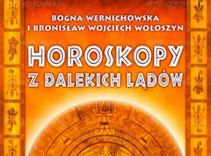 """Okładka książki """"Horoskopy z dalekich lądów"""""""