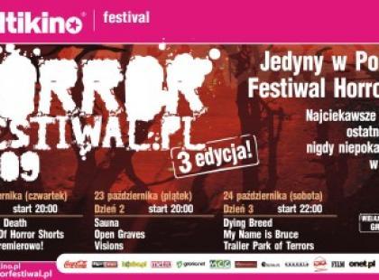 Horror Festiwal w październiku w Multikinie - MAMY BILETY!