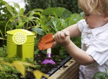 Hortiterapia – terapia ogrodnicza dla dzieci