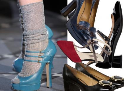 Hot trend: retro-buty na jesień