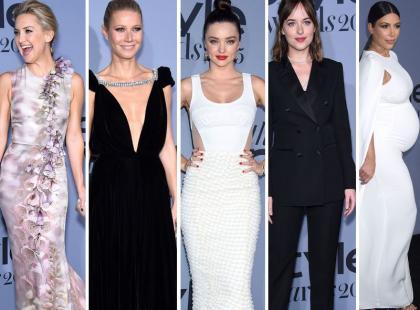 Hudson, Paltrow, Kerr, Johnson i Kardashian w pięknych stylizacjach