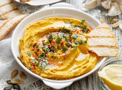 Hummus z dyni