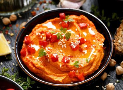 Hummus z papryki