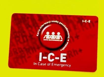 I-C-E – ułatwmy pracę ratownikom!